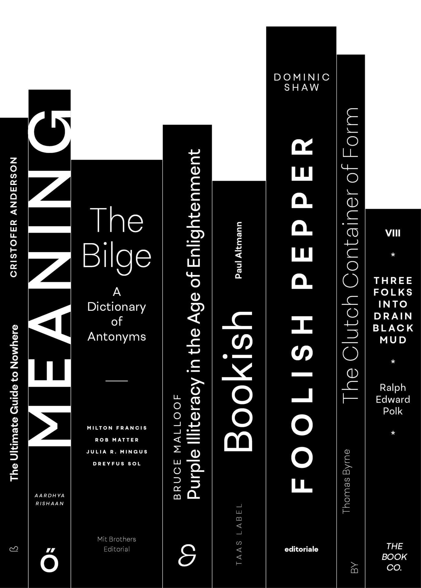 Uivo typeface books