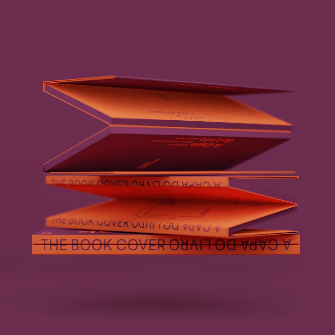 Revolving stack of books